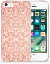 Apple iPhone SE | 5S Uniek TPU Hoesje Pattern Orange