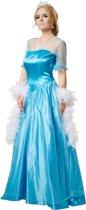 dressforfun 301890 Ijsprinses voor dames vrouwen L verkleedkleding kostuum halloween verkleden feestkleding carnavalskleding carnaval feestkledij partykleding