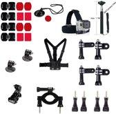 32 in 1 Outdoor GoPro Accessories Kit voor GoPro Hero 4/3+/3/2/1 en Actioncam