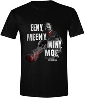 The Walking Dead - Eeny, Meeny Men T-Shirt - Zwart - Maat M