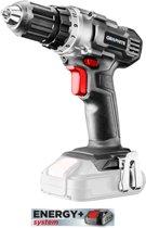Accu boor/schroefmachine 18v, LI-ION Energy+ 58G000 GRAPHITE