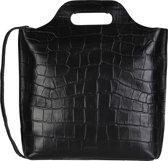 MYOMY My Carry Bag M Dames Shopper - Croco Black