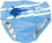 Beco Sealife herbruikbare zwemluier - Zwembroekje Blauw effen - Maat XL : 18-24 mnd