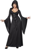 Zwarte heksen kostuum voor vrouwen Halloween  - Verkleedkleding - Large