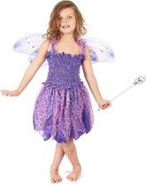 Paars feeënpak voor meisjes - Verkleedkleding