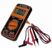 Digitale multimeter Universeel meter  multi tester met groot LCD display