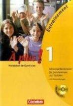 À plus! Ausgabe 2004. Band 1. Klassenarbeitstrainer mit CD und Musterlösungen