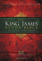 KJV Study Bible, Large Print, Hardcover, Red Letter Edition