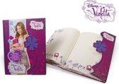 Disney Violetta Dagboek met Magnetische Slot
