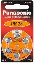 Panasonic PR 13 hoorapparaat cellen Zinc Air 6 stuks
