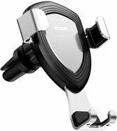 ESR iPhone X verstelbare autohouder aluminium Zilver