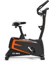 Hometrainer - FitBike Ride 6 iPlus - Fitness fiets met tablet houder - Zwart