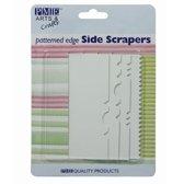 PME Pattern Edge Side Scraper Set/4