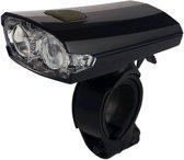 Union UN-160 Koplamp - Fietslamp - Batterij/USB - LED - Zwart