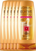 L'Oréal Paris Elvive Extraordinary Oil Conditioner - 6 x 200 ml - Voordeelverpakking