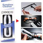 Professionele brillenreiniger | Kleur Blauw | Peeps | Eyeglass cleaner