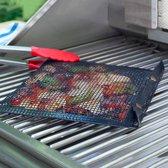 GrillBag - Recette Pafait - Veilig barbecuen - bbq tool - kookmat - barbecue mat - ovenbestendig en herbruikbaar - zwart