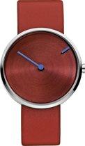 Jacob Jensen Curve 255 - Horloge - 32 mm - Rood