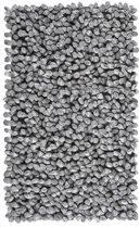Aquanova Rocca - Badmat - 60x100 cm - Zilvergrijs