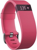 Fitbit Charge HR Activity Tracker - Roze - Large