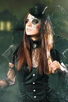 Gothic Halloween 2 Grid Notebook