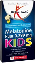 Lucovitaal - Melatonine Kids 0,299 mg - 30 tabletten  - Voedingssupplementen