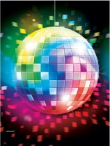Table Cover Disco Fever 70 s