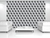 Fotobehang 3D, Design | Grijs | 208x146cm