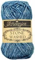 Scheepjes Stone Washed 805 Blue Apatite (PAK MET 10 BOLLEN)