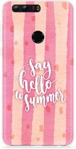Honor 8 Hoesje Say Hello to Summer