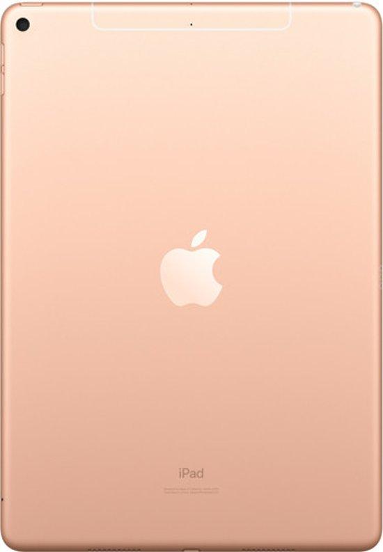 Apple iPad Air (2019) 10,5 inch Goud 64GB Wifi + 4G