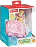 Fisher Price Puppy auto rood.