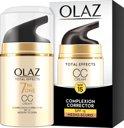 Olaz Total Effects 7-in-1 medium tot donkere huidtint - 50 ml - CC Cream
