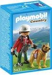 Playmobil Hulpverlener met Reddingshond - 5431