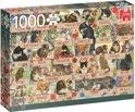 Francien's Kattenjubileum Puzzel 1000 stukjes