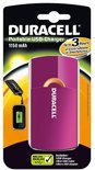 Duracell 3 uurs mobiele oplader - Roze - 1150 mAh