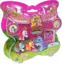 Filly Butterfly Family speelset met 4 Filly Butterfly paarden en verzamelkaarten
