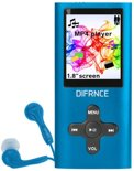 Difrnce MP1851 - MP4 speler - 4 GB - Blauw