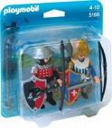 Playmobil DuoPack Leeuwenridder en Valkenridder  - 5166