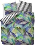 ESPRIT Palmia - dekbedovertrek - lits jumeaux - 240 x 220 - Groen