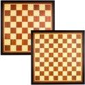 Dam- en Schaakbord 54.5 x 54.5 cm