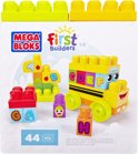 Mega Bloks Junior Builders ABC Schoolbus - Constructiespeelgoed