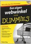 Een eigen webwinkel voor Dummies + CD-rom