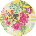 Accessorize Melamine plate Tropical Flower