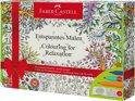 kleurset Faber Castell met 60 connector viltstiften en 1 kleurboek beautiful dreams
