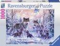 Ravensburger Arctische wolven - Puzzel van 1000 stukjes
