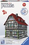 Ravensburger Vakwerkhuis - 3D Puzzel gebouw van 216 stukjes