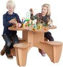 Joy Toy Kralentafel met 4 zitjes (Play)