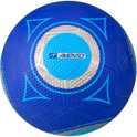 Straatvoetbal Rubber - Blauw (maat - 5)