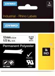 DYMO 12mm RHINO Permanent Polyester D1 labelprinter-tape